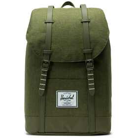 Herschel Retreat Backpack olive night crosshatch/olive night